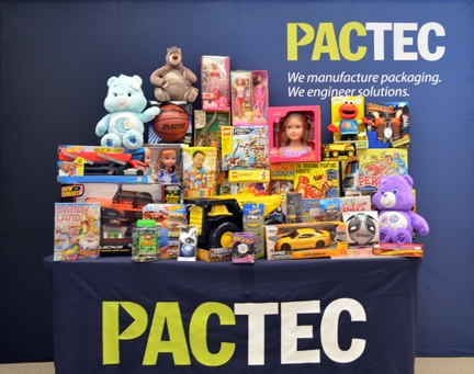 PacTec, Inc. Employees Donate to Toys for Tots