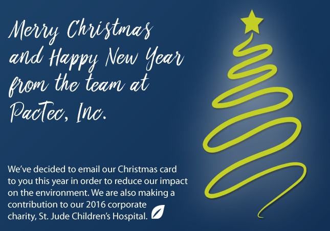 Merry Christmas from PacTec, Inc.
