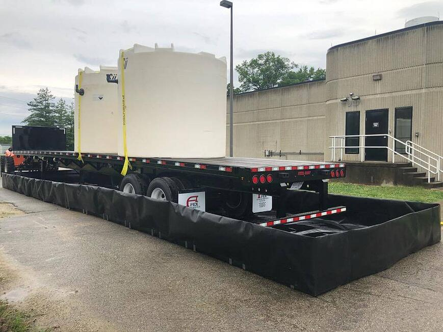 secondary spill containment capacity