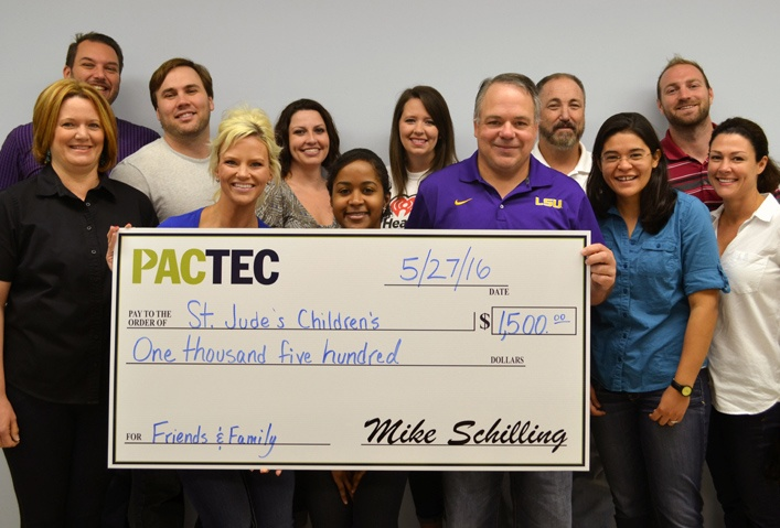 PacTec Employees Raise Funds for St. Jude Children's Research Hospital