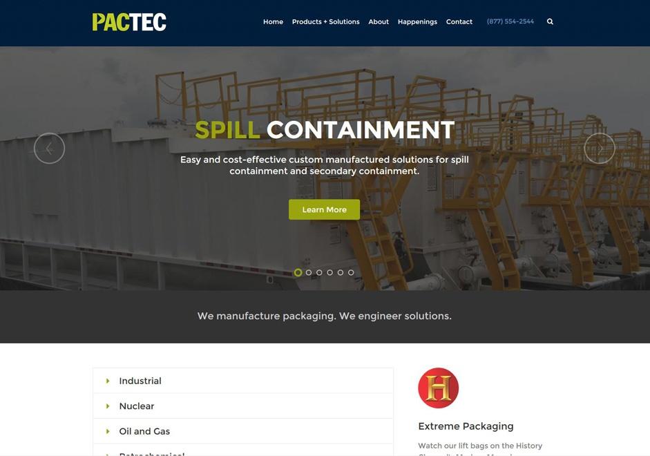 PacTec New Website is Live!