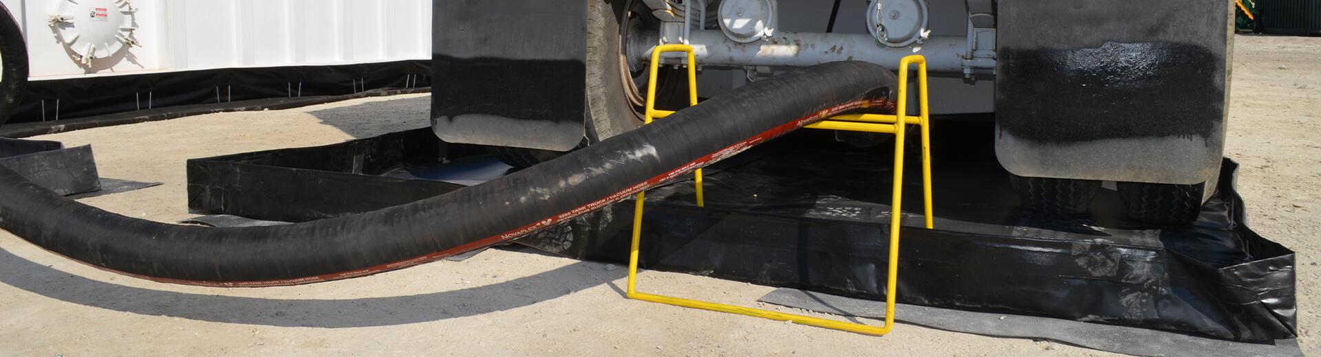 BermPac A Permanent Spill Containment Berm