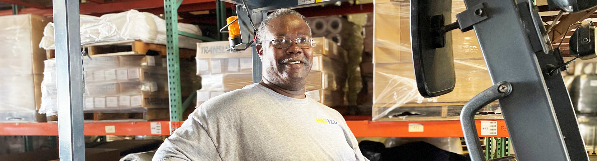 PacTecs Shipping and Receiving Warehouseman - Charles Fisher