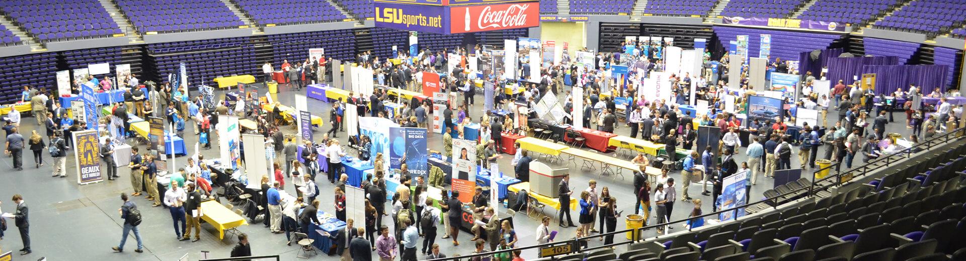 Pactec Attends LSU Career Fair