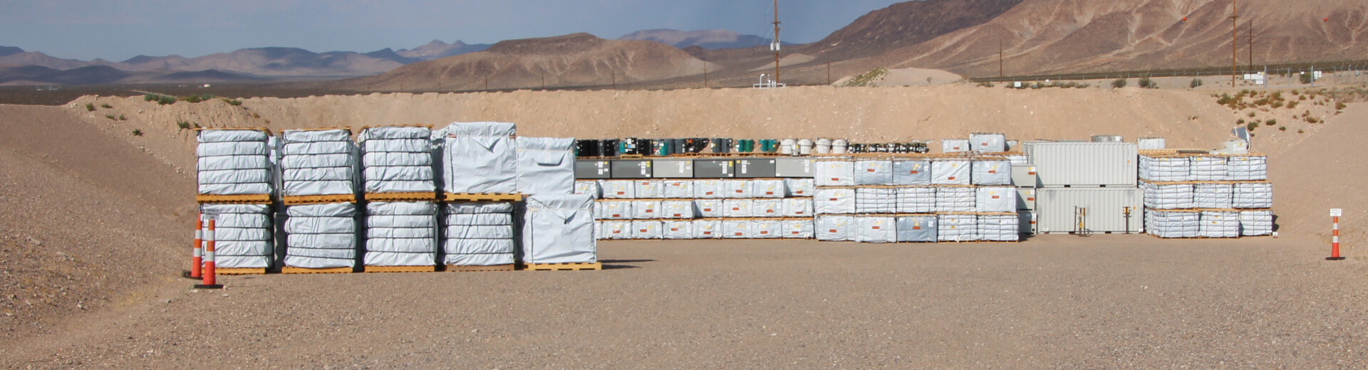 Type IP-2 LiftPac's at Nevada Site