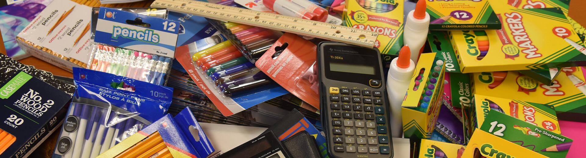 PacTec provides school supplies